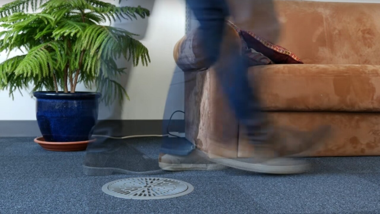 This prototype device can detect health problems by the way you walk
