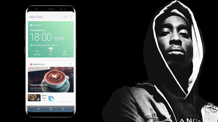 Samsung's Bixby assistant can make the Galaxy S8 spit some fire raps