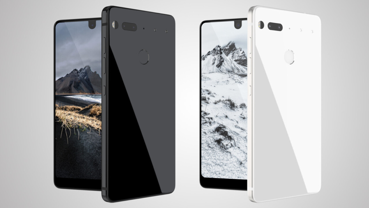 Android creator Andy Rubin unveils the stunning Essential smartphone