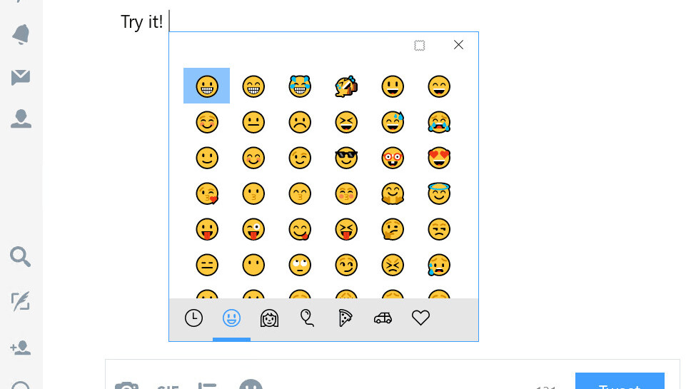 Windows 10 now has an emoji shortcut (it's about time)