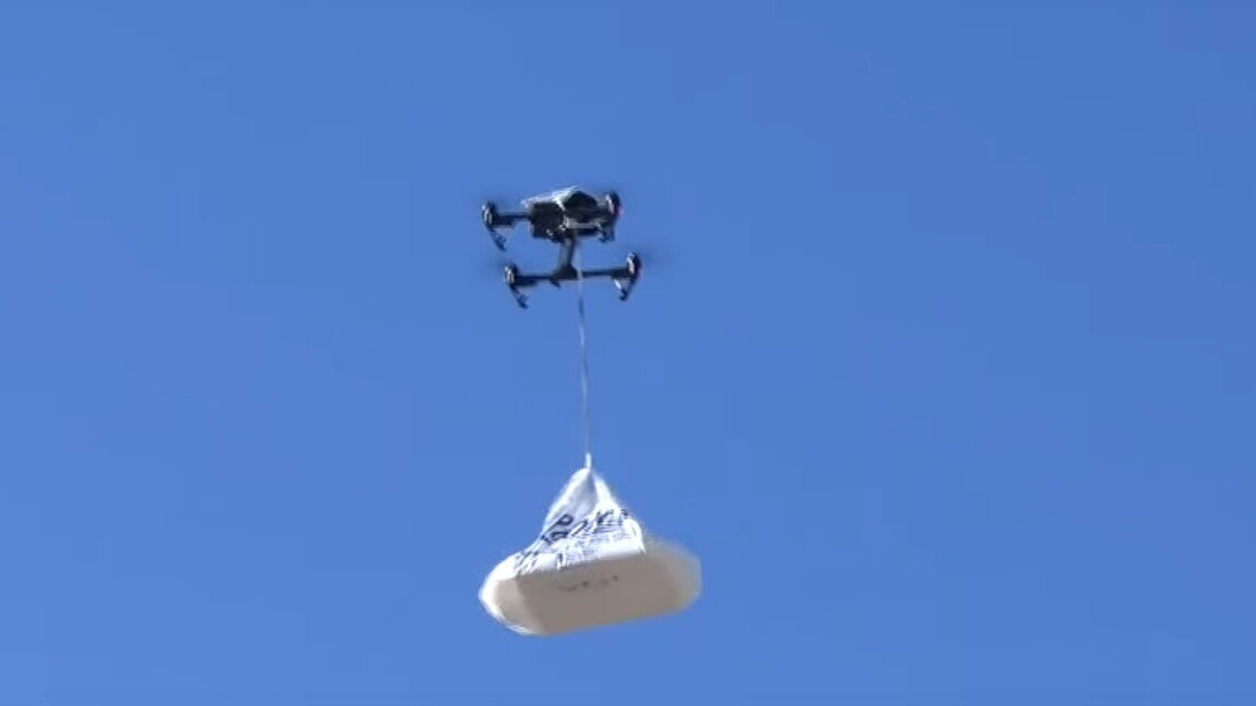 Donuts delivered via drone is the future we all imagined