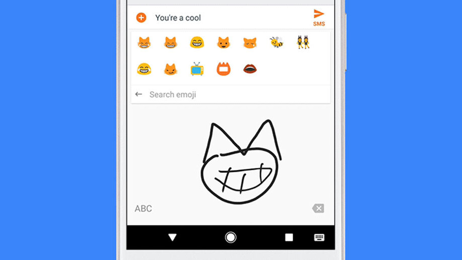 Google Gboard now lets you draw to search emoji because why not