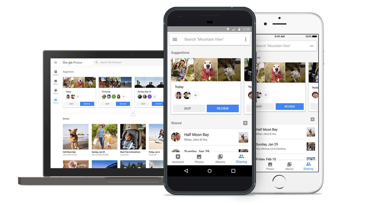 Google Photos' new sharing features are a bit much, but families might enjoy them