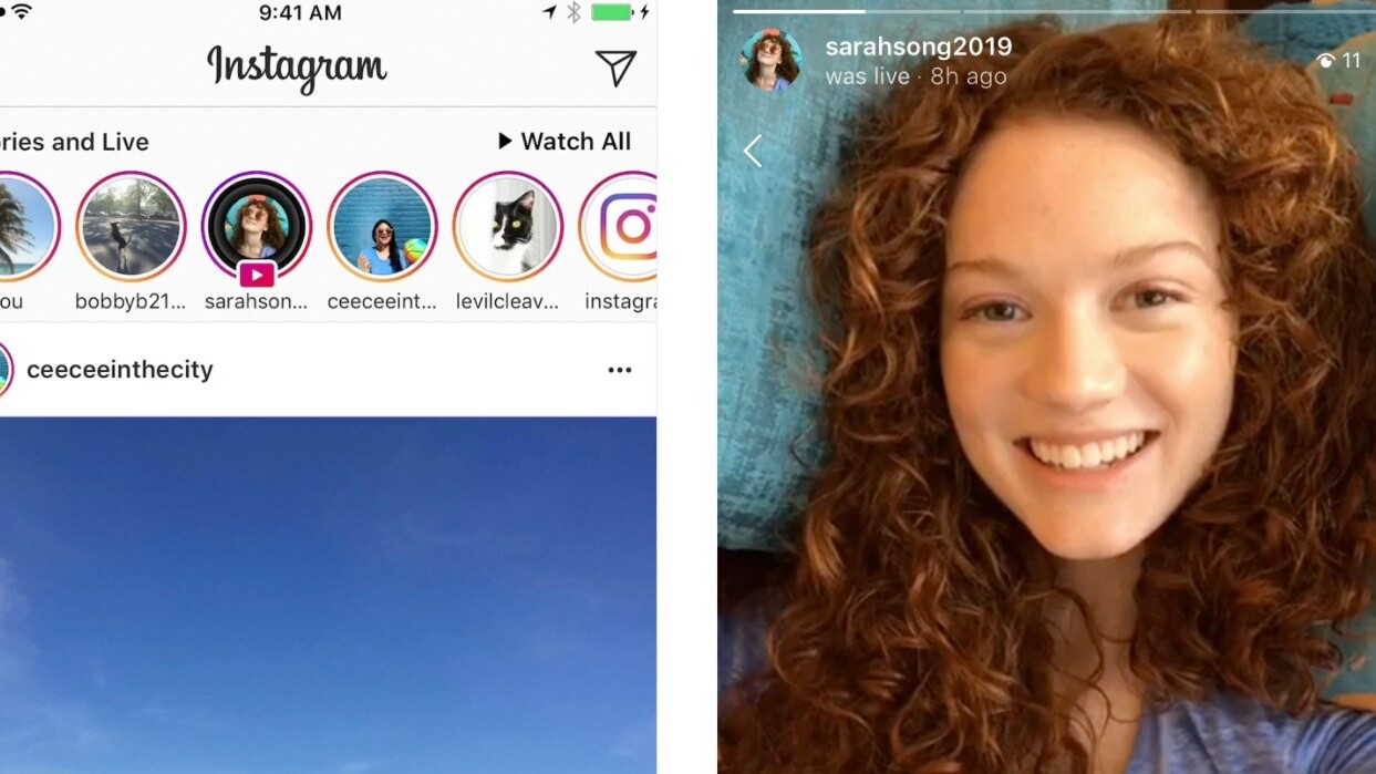 Instagram now lets you add live video replays to your Stories