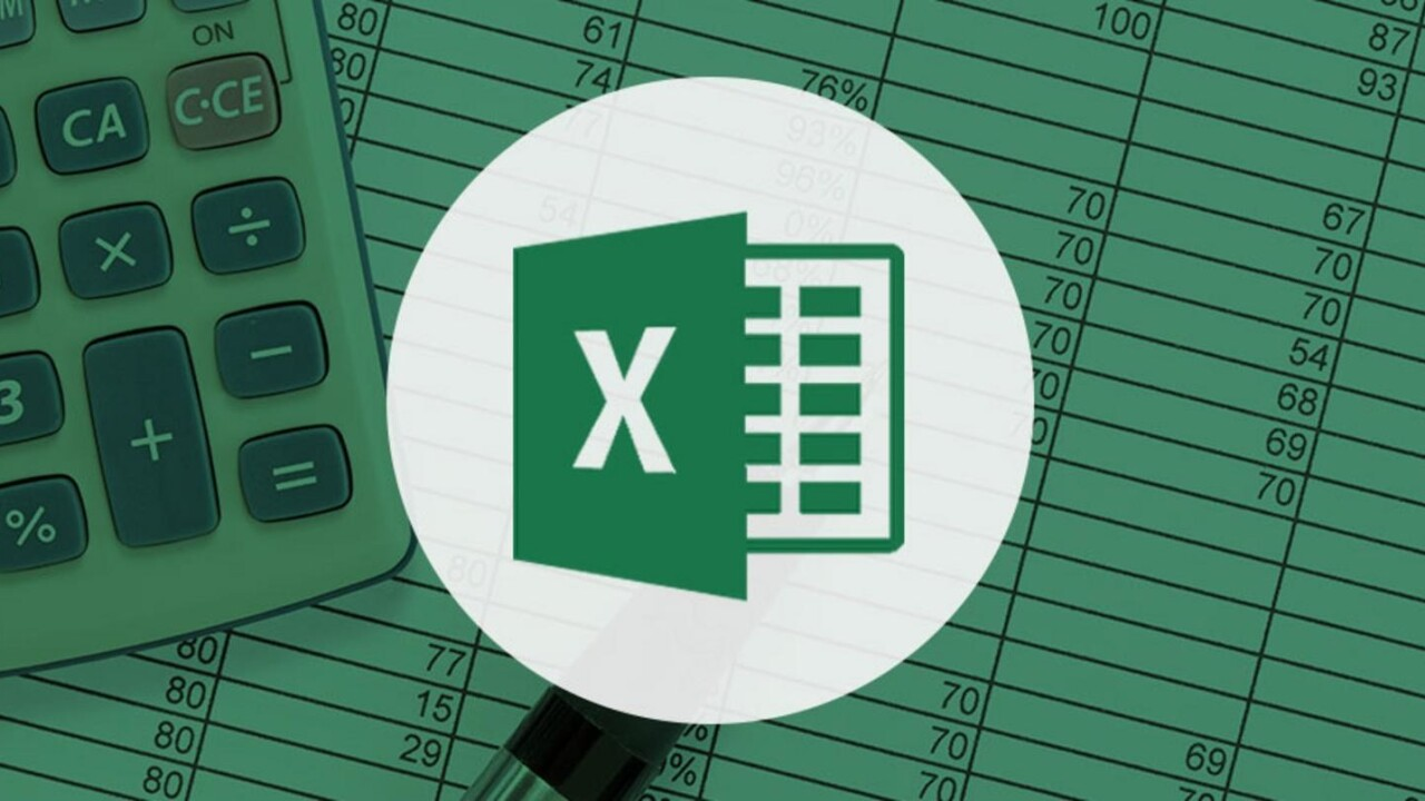 Get trained and certified with Microsoft Excel for less than $20