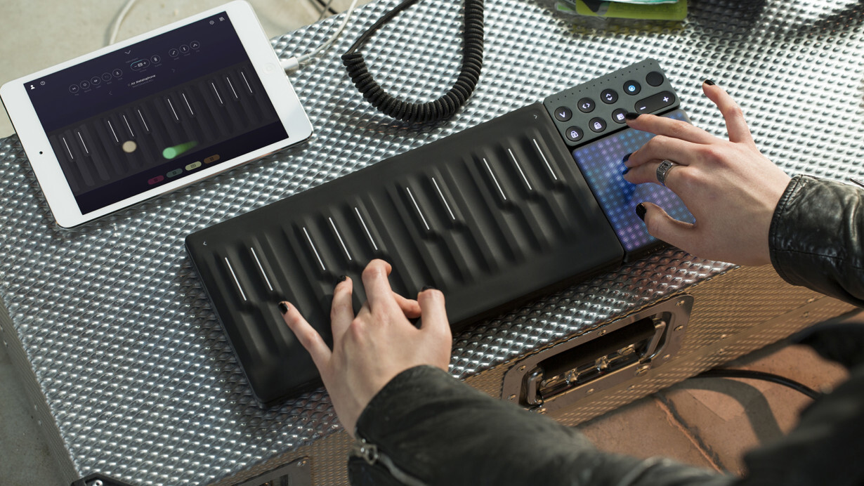 Roli's new Seaboard Block shows modular design can make beautiful music