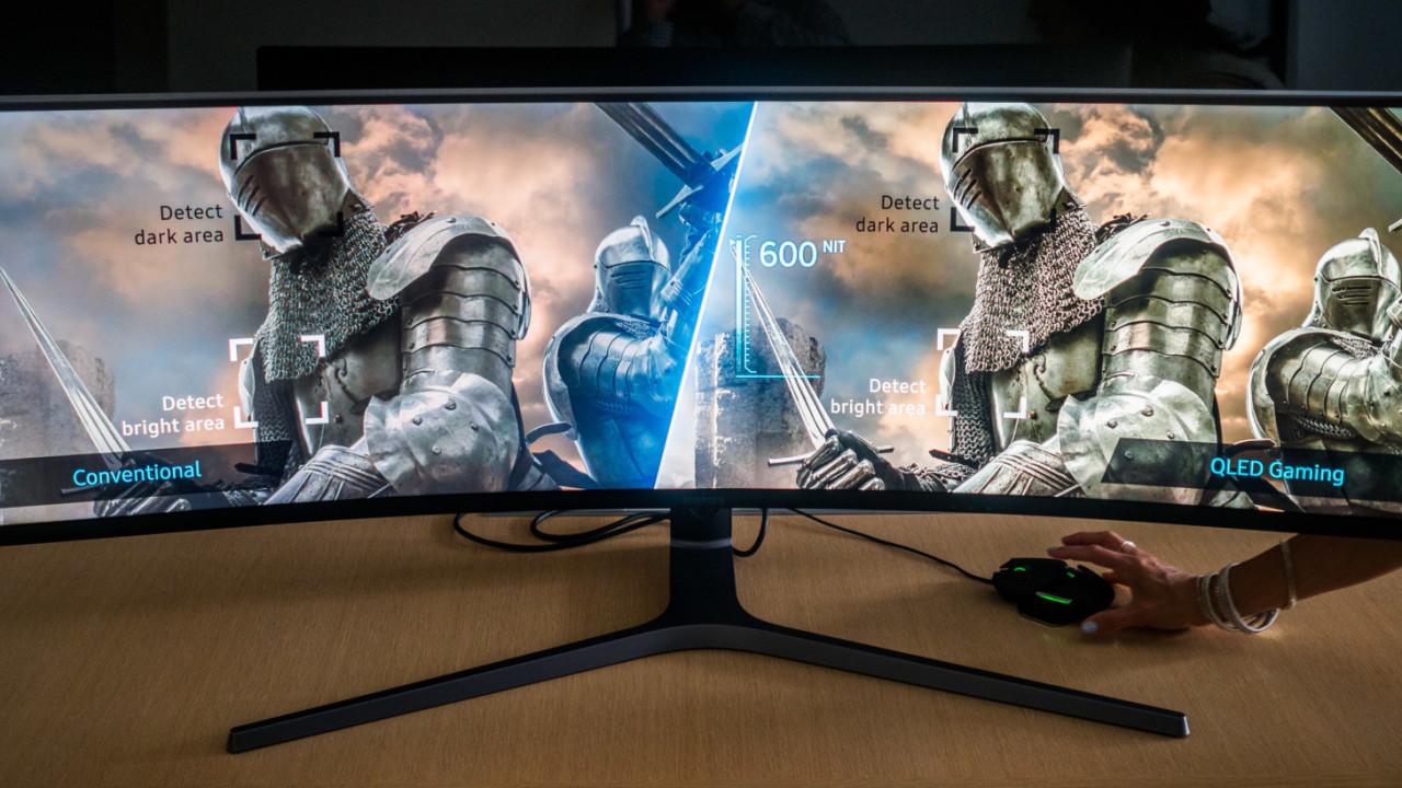 Samsung's insane 32:9 gaming monitor laughs at your dual monitor setup