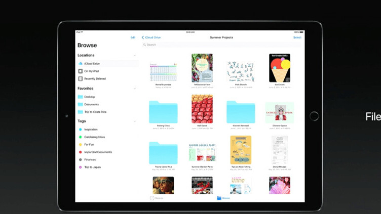 Apple finally gives iOS a proper file management system with new Files app