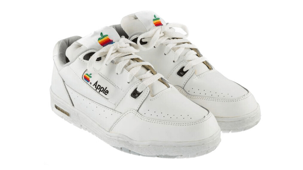 Apple vintage sneakers are selling on eBay at the 'humble' price of $15,000