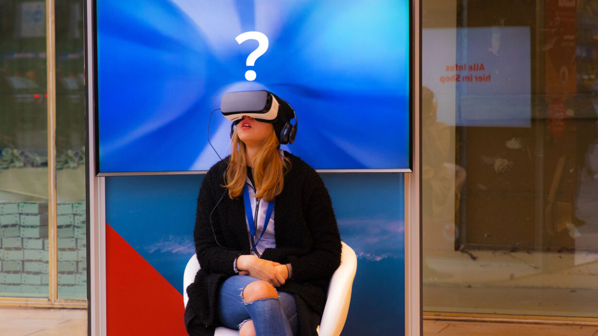 Shoppers want VR in retail stores but we can't figure out why