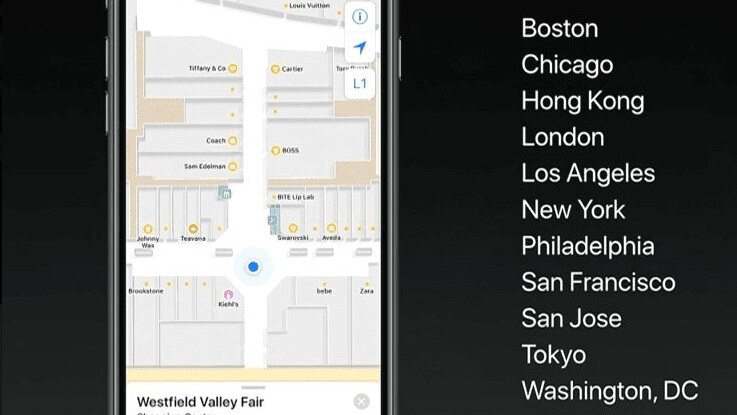 Apple updates Maps with detailed floor plans of airports, malls in iOS 11