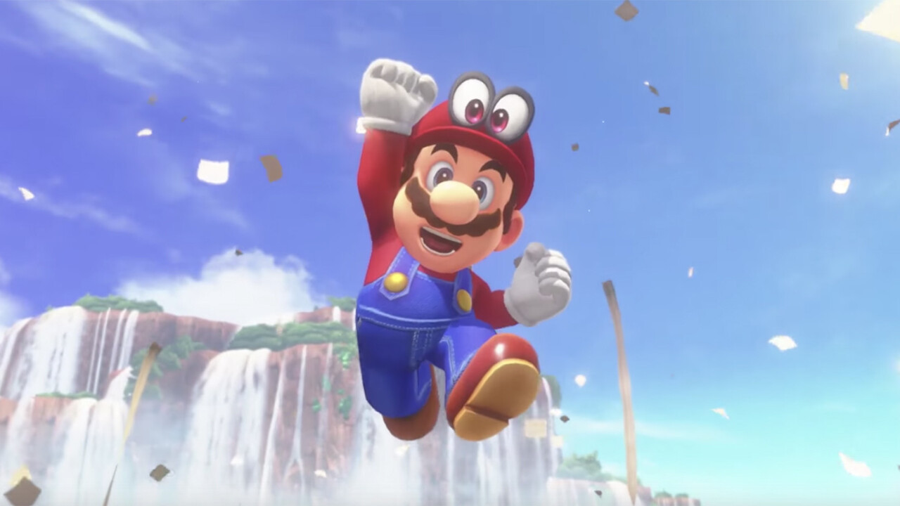 The Super Mario Odyssey trailer is the strangest thing I've seen today