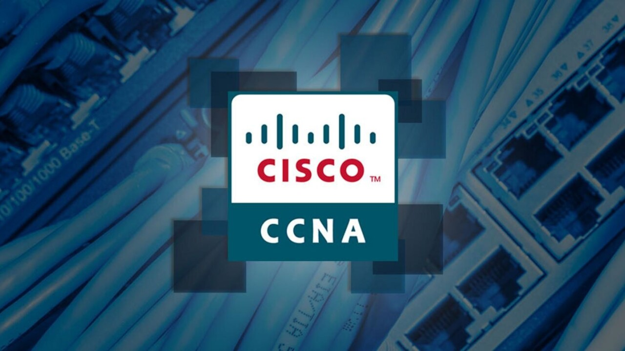Get the training to become a certified Cisco network pro for just $39