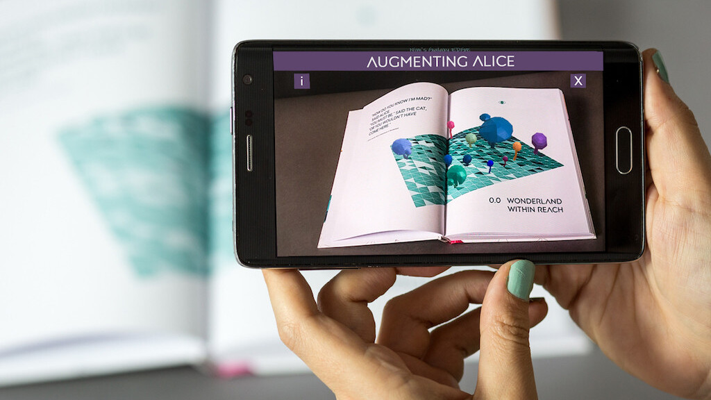 Take a first look at Augmenting Alice, an AR-enhanced book about the future of AR