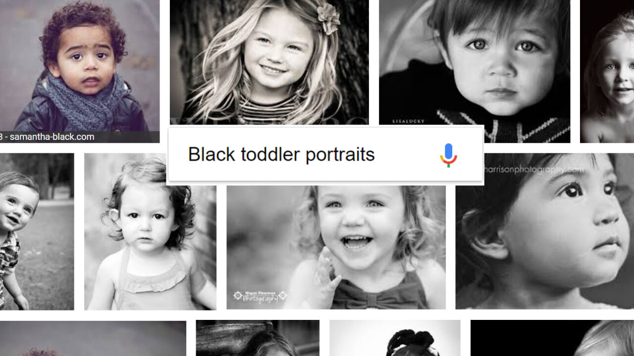 Googling 'black baby portraits' reveals yet another problem with AI