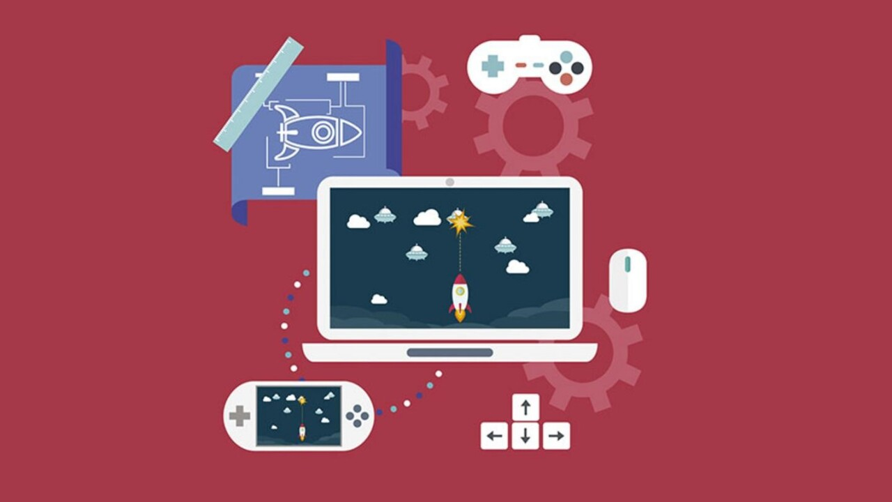 Learn to build video games from the ground up for less than $50
