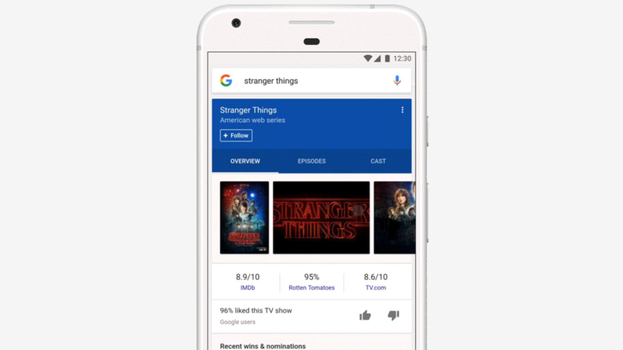 Google adds a 'follow' button to search results
