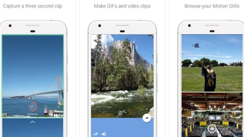 Google's Motion Stills app lands on Android to make buttery-smooth GIFs