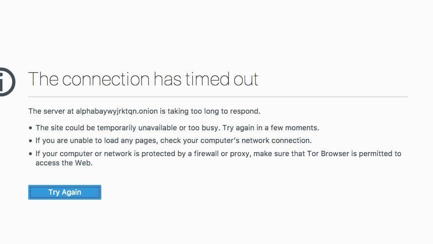 Dark web drug marketplace goes offline, sparks fears of multi-million Bitcoin heist [Update]