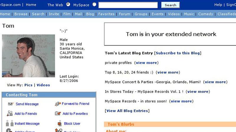 It's far, far too easy to break into old Myspace accounts