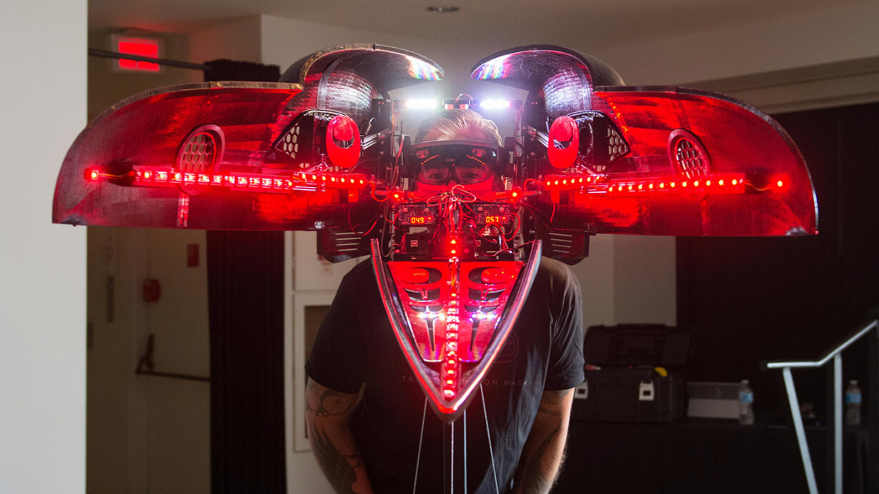 How 3D-printing, robotics and mixed reality created this HoloLens art piece