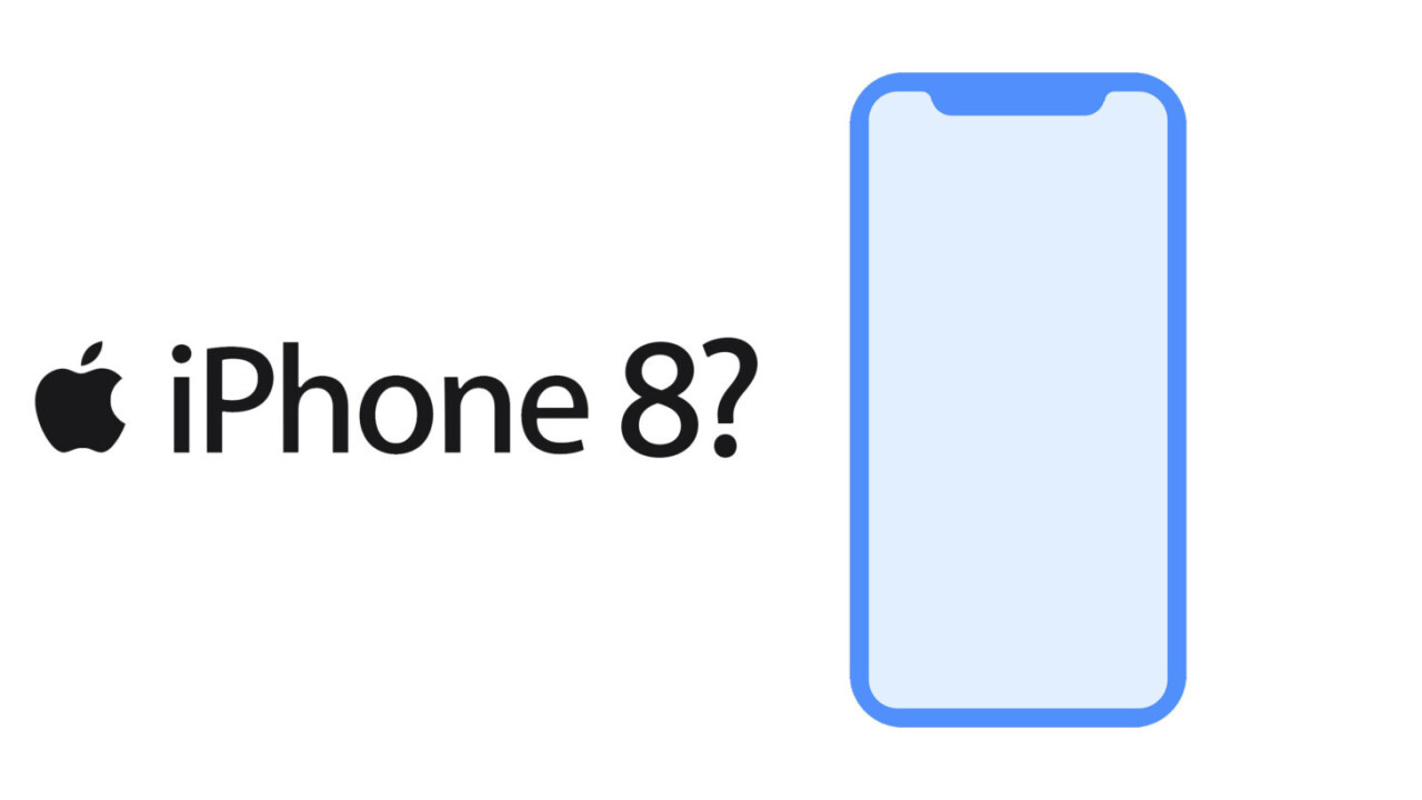 Apple accidentally leaks iPhone 8 design and face scanner