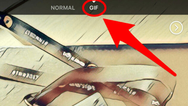 Whoa! Facebook camera now has built-in GIF creator