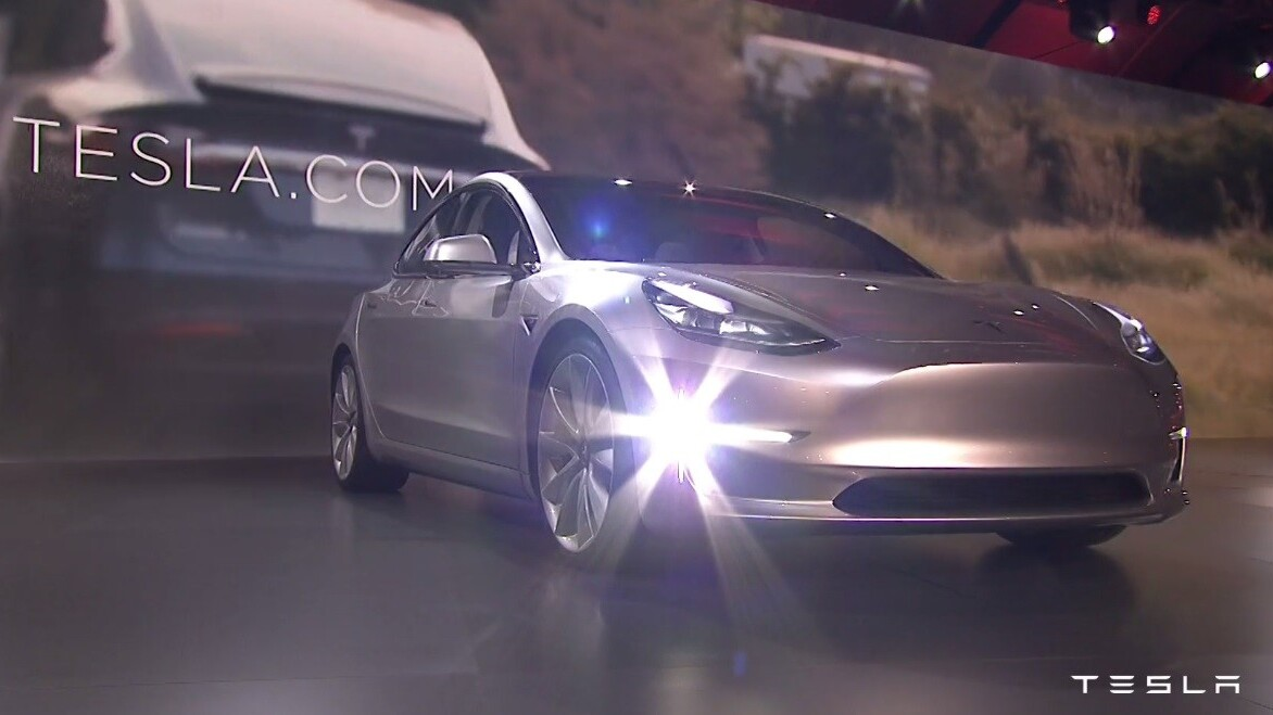 Here's how to watch Tesla's Model 3 event live