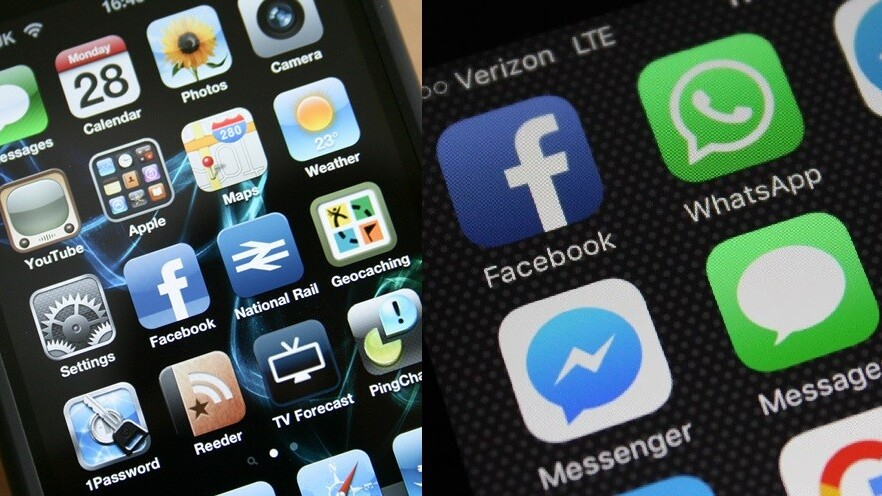 Here's how our favorite apps have aged over the years