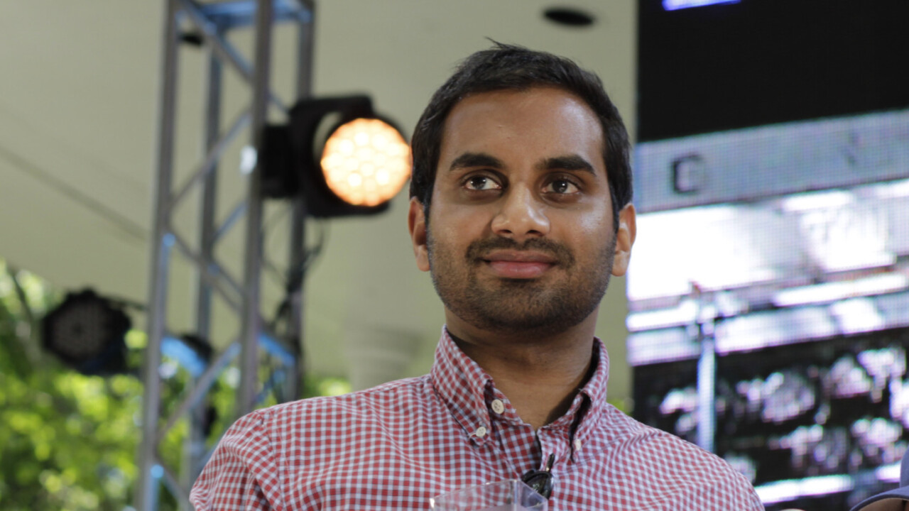 I want to be like Aziz Ansari and disconnect from the internet