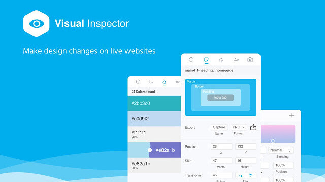 Visual Inspector is a designer-friendly complement to Chrome's DevTools
