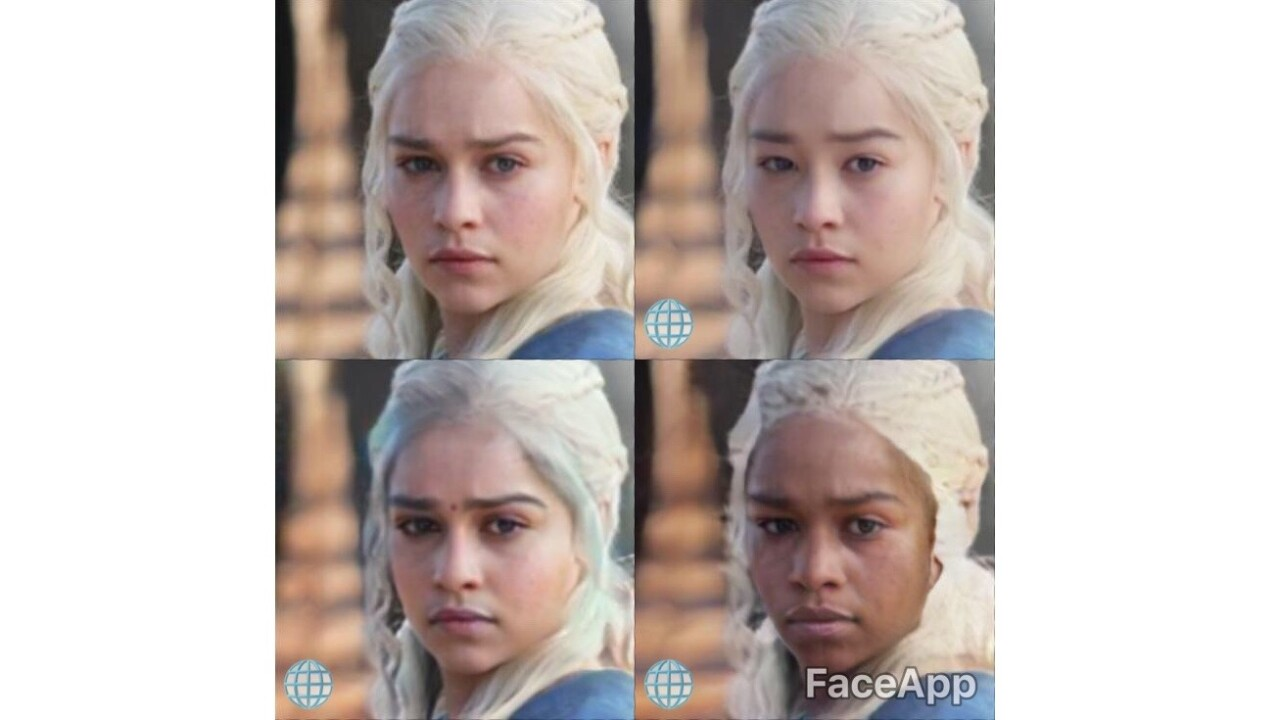 FaceApp's 'black,' 'white,' and 'Asian' filters are just as awful as they sound