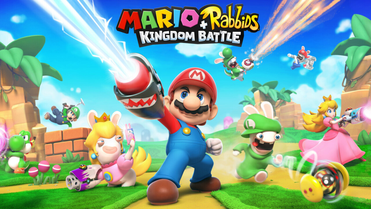 Mario + Rabbids: Kingdom Battle is way more fun than it has any right to be