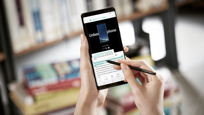 It's official: Samsung reveals the Galaxy Note 8