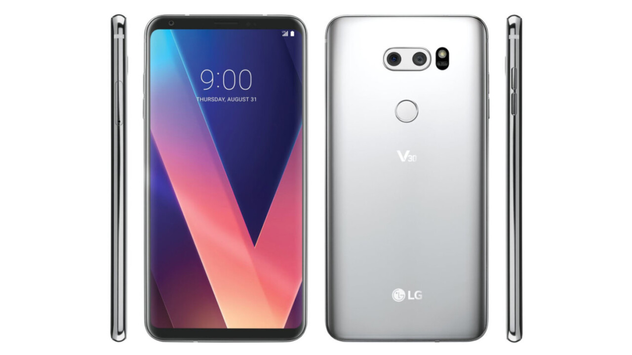 The LG V30 is shaping up to be a serious Note 8 competitor