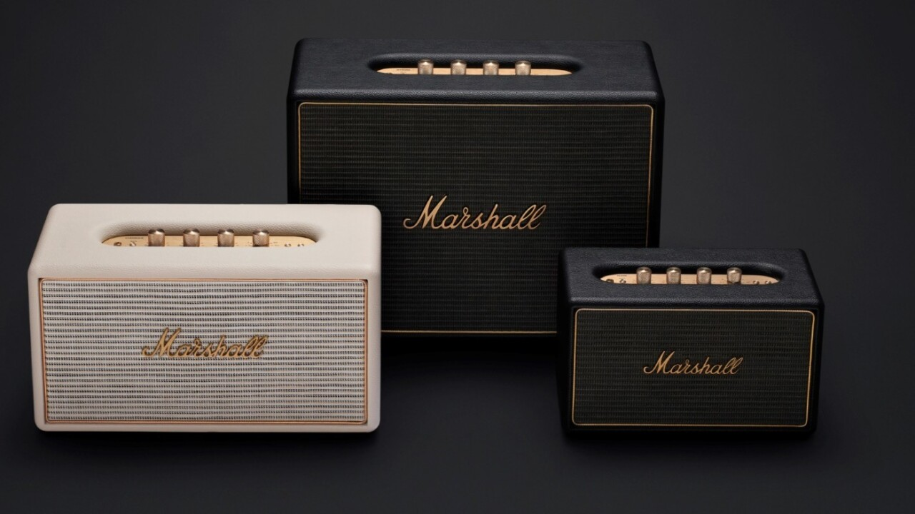 Marshall's new speakers pair Sonos-like functionality with vintage looks