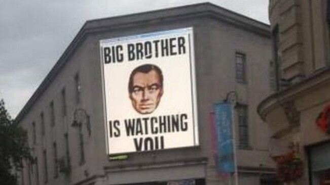Hackers take control of large outdoor screen in Cardiff to broadcast offensive messages