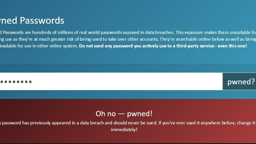 This site has a searchable database of over 306 million leaked password