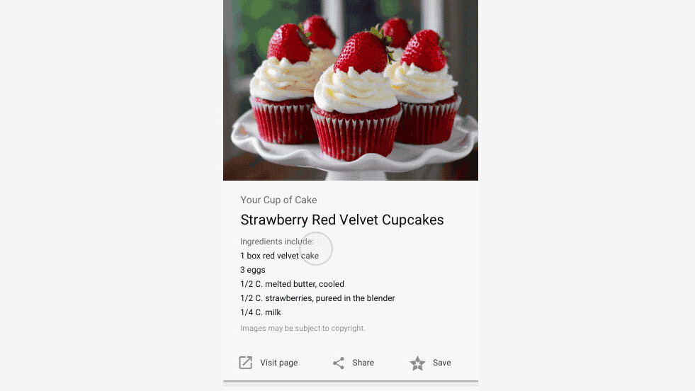 Google tweaks Image Search so you can easily browse through recipes