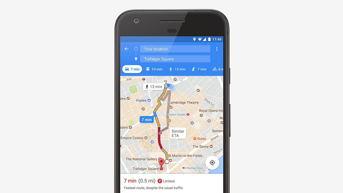 Google Maps wants to help you find a parking spot in 25 new cities