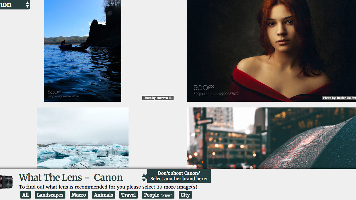 This photography tool helps you find the ideal lens for your camera