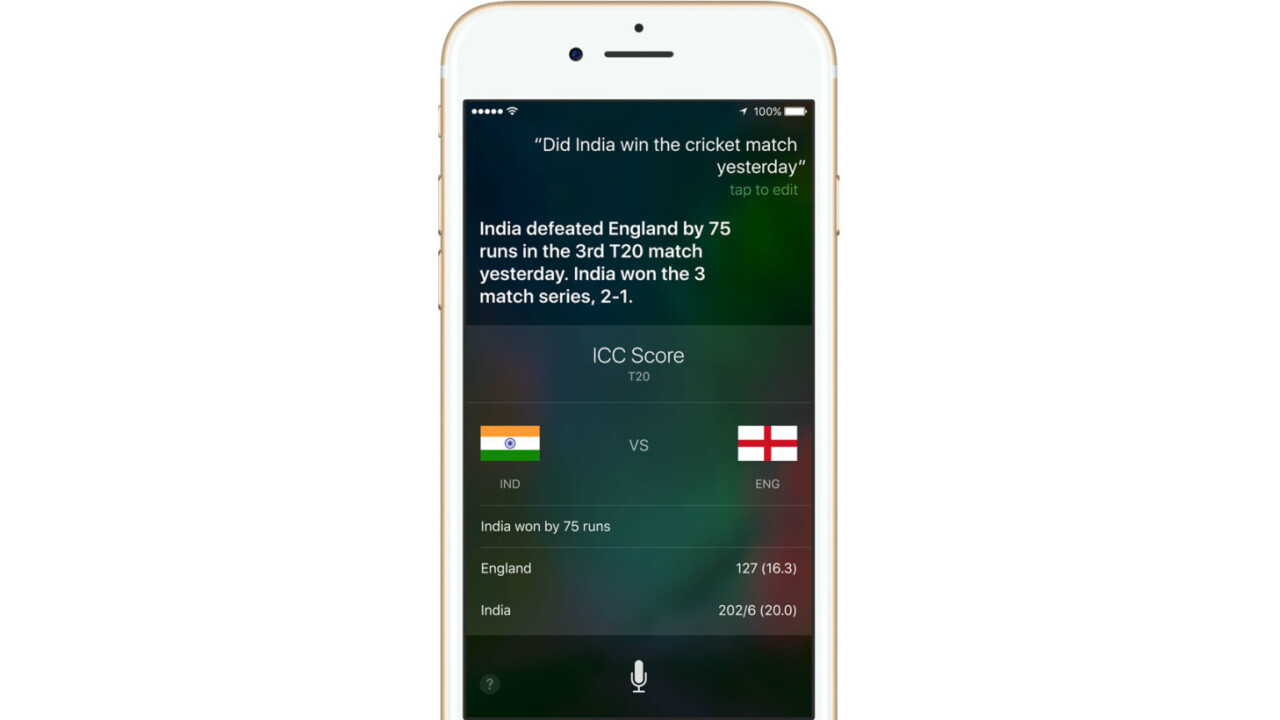 Apple fixes Siri's robotic voice with deep learning – hear the difference
