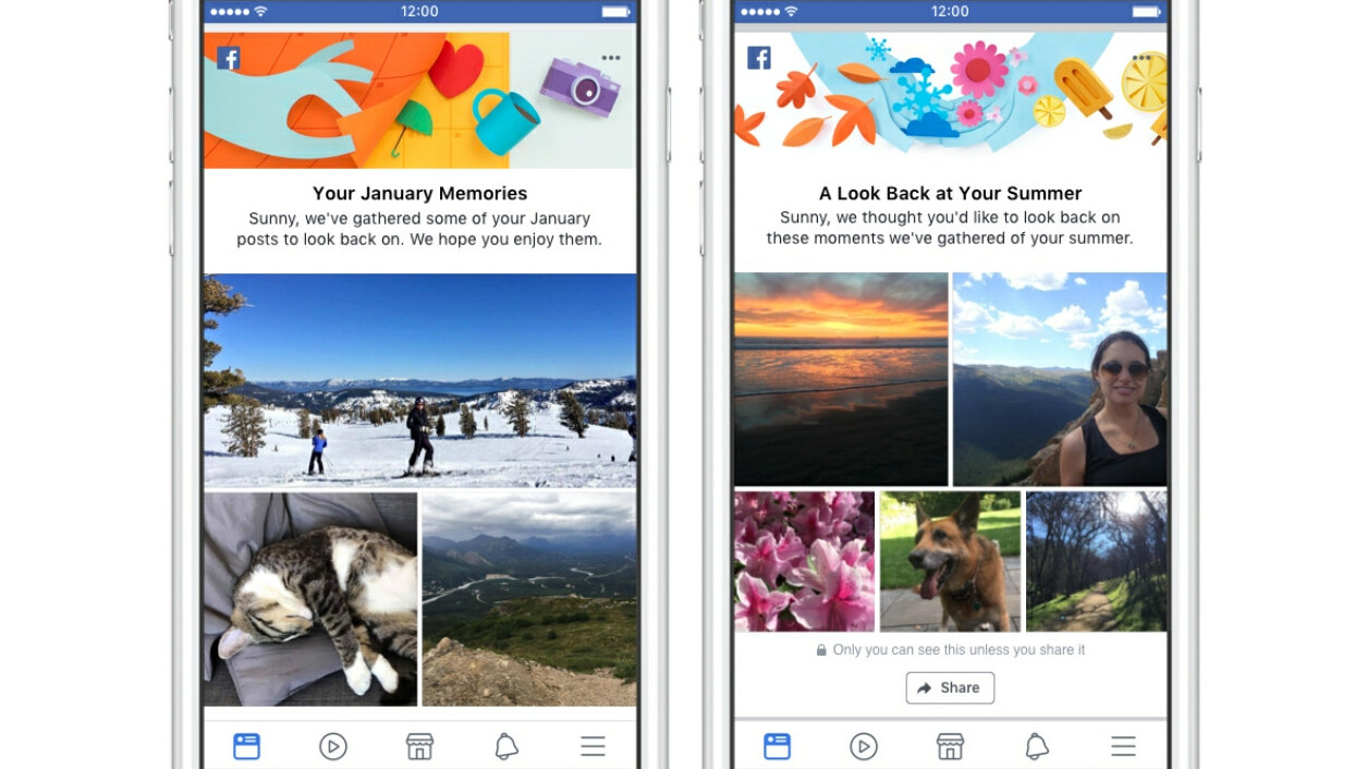 Facebook wants to fill up your notifications with even more memories