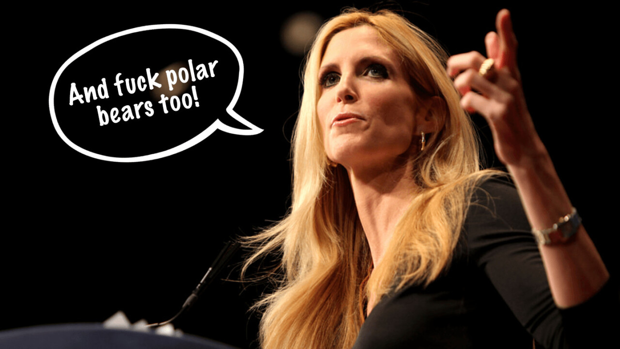 Ann Coulter's idiotic tweet proves just how badly we need science
