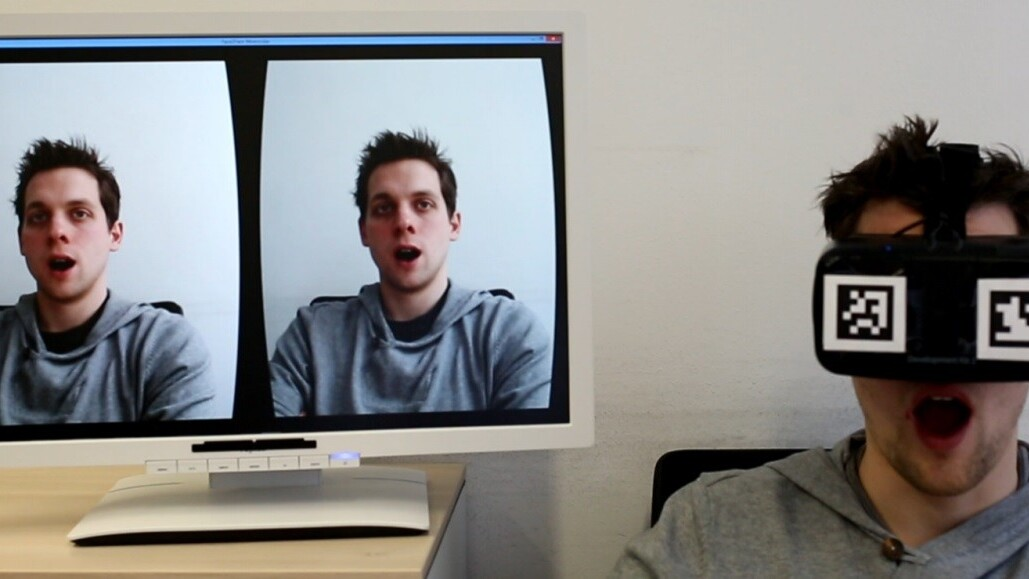 This video shows the eerie perfection of real-time facial expression copying