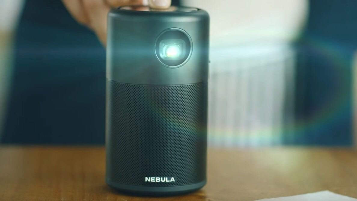 Anker's Nebula Capsule is a 100-inch Android projector the size of a soda can