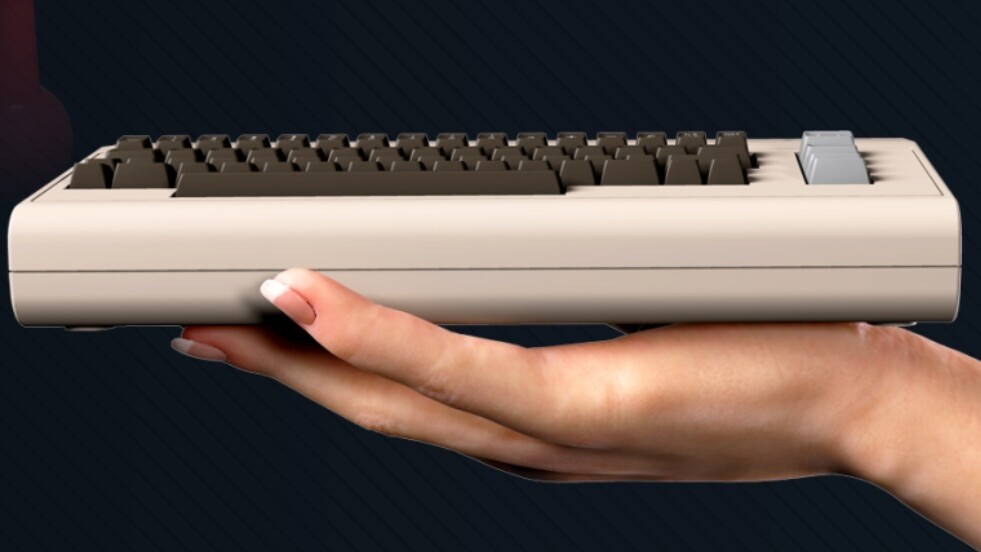 The Commodore 64 is getting its own tiny retro console