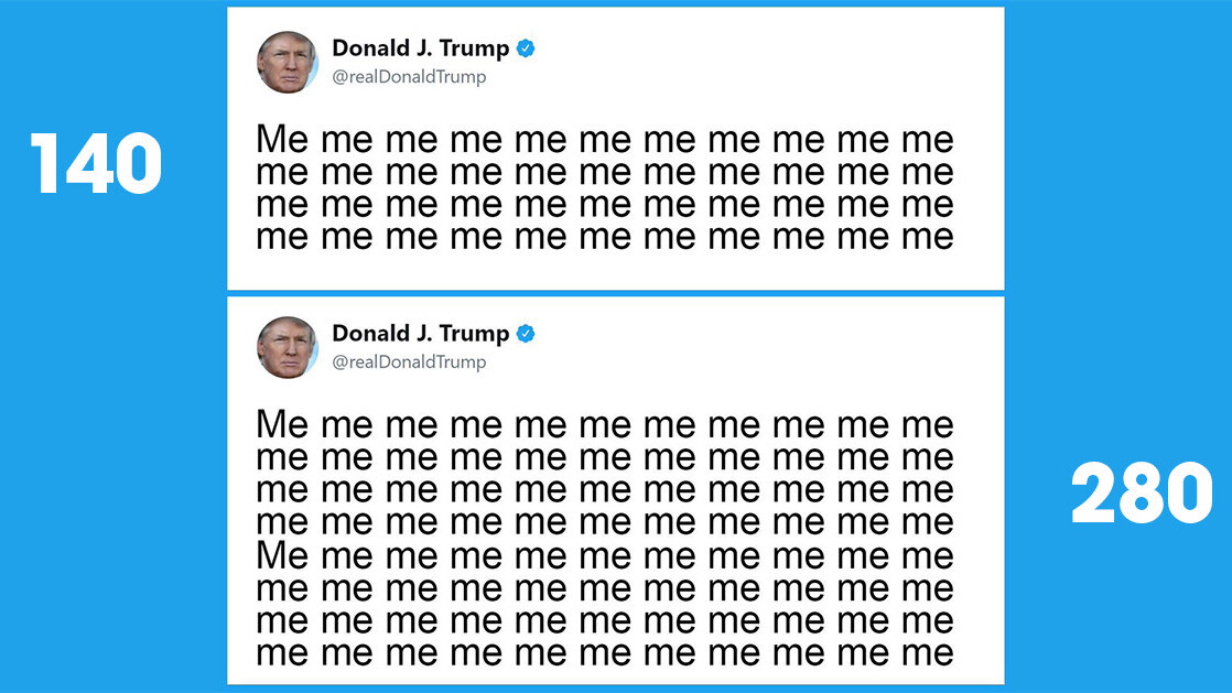 There's already a Chrome extension to block 280-character tweets