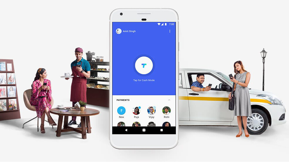 Google's Tez payments app for India lets you send money to nearby phones using audio