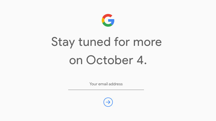 Google to unveil the new Pixel on October 4